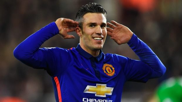 Robin van Persie scored in each half in United's win over Southampton.