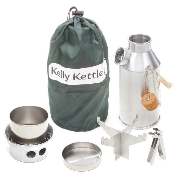 Kelly Kettle® - Original & Best | Camping equipment | Camping gear | Survival kit - Aluminium 'Trekker' Kelly Kettle® - Full Kit | Kelly Kettle - Kits | Kelly Kettle Co.