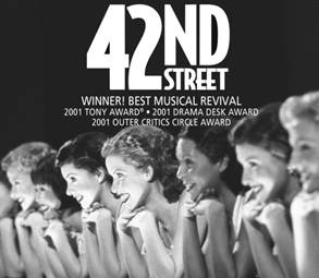 Saw it with Ruby Keeler.  Hot Pants Became The Craze. Note: Didn't see it with Ruby Keeler but 42nd Street will ALWAYS have a Certain Signifigance  and a Very Special Place in My Heart being that it was the first of the long line of Traditional Daddy/ Daughter Musicals We saw Together!
