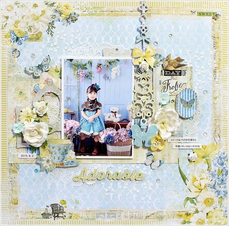 Blue Fern Studios ~Adorable~ - Scrapbook.com