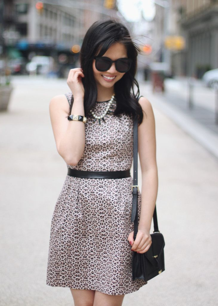 little leopard dress.