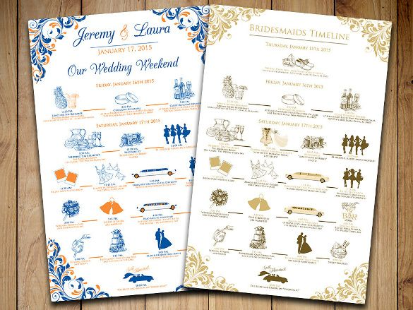 The 25 best wedding itinerary template ideas on pinterest wedding itinerary template 11 free word pdf documents download free premium templates junglespirit Images
