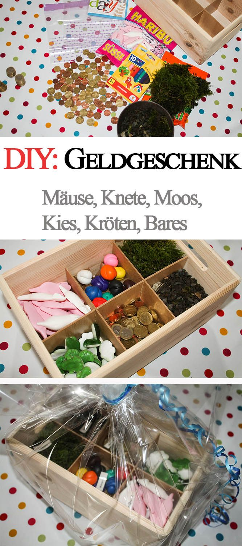 DIY: kreatives Geldgeschenk in einer Holz-Kiste
