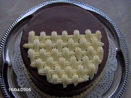 zdobení dortů krémem video - Google Search