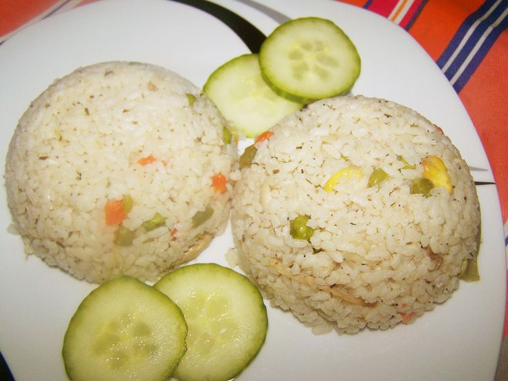 Rice Pilaf - Pilaf de Orez cu Legume