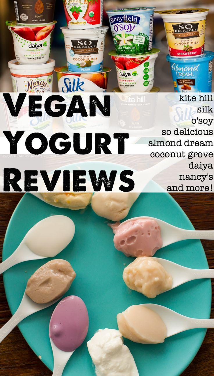 Vegan Yogurt Reviews + Buying Guide