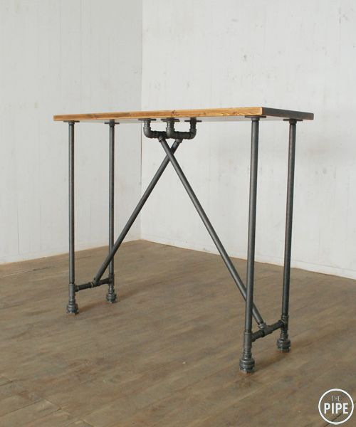 the pipe 52b more black iron pipe table
