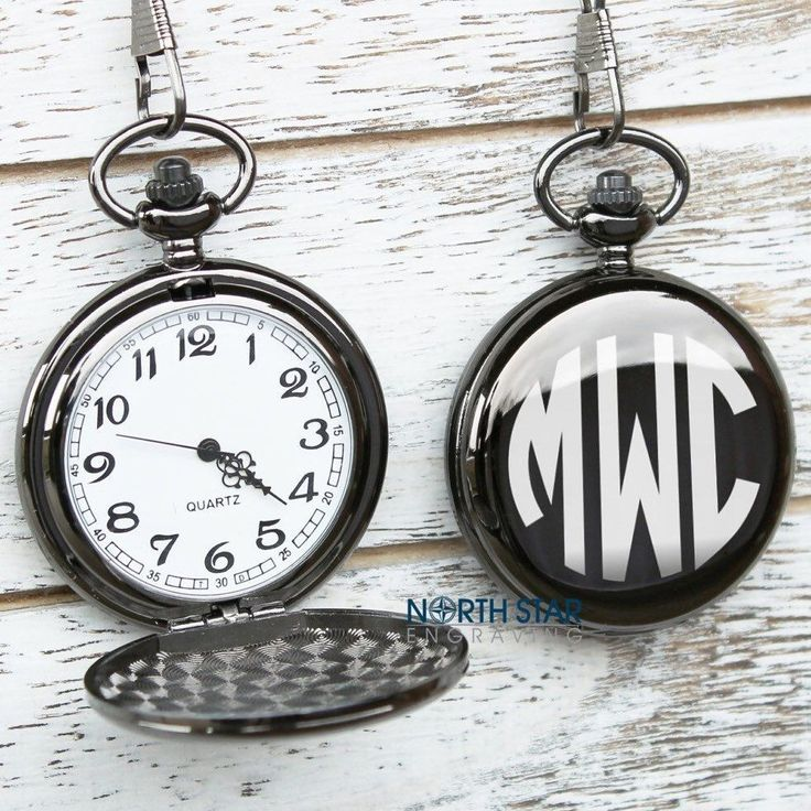 Personalized pocket watch! Perfect gift for any occasion! Comes in a gift box.