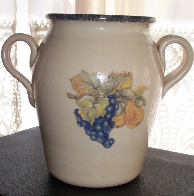 Merveilleux Italian Fruit Home U0026 Garden Party Vase Stoneware