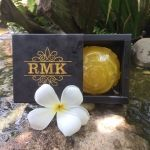 RMK Honey Gold Snail White Soap สบู่เมือกหอยทากฝรั่งเศสผสมน้ำผึ้งทองคำ