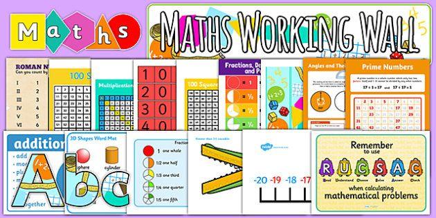 18 besten Maths Display Bilder auf Pinterest | Lernen, Poster und ...