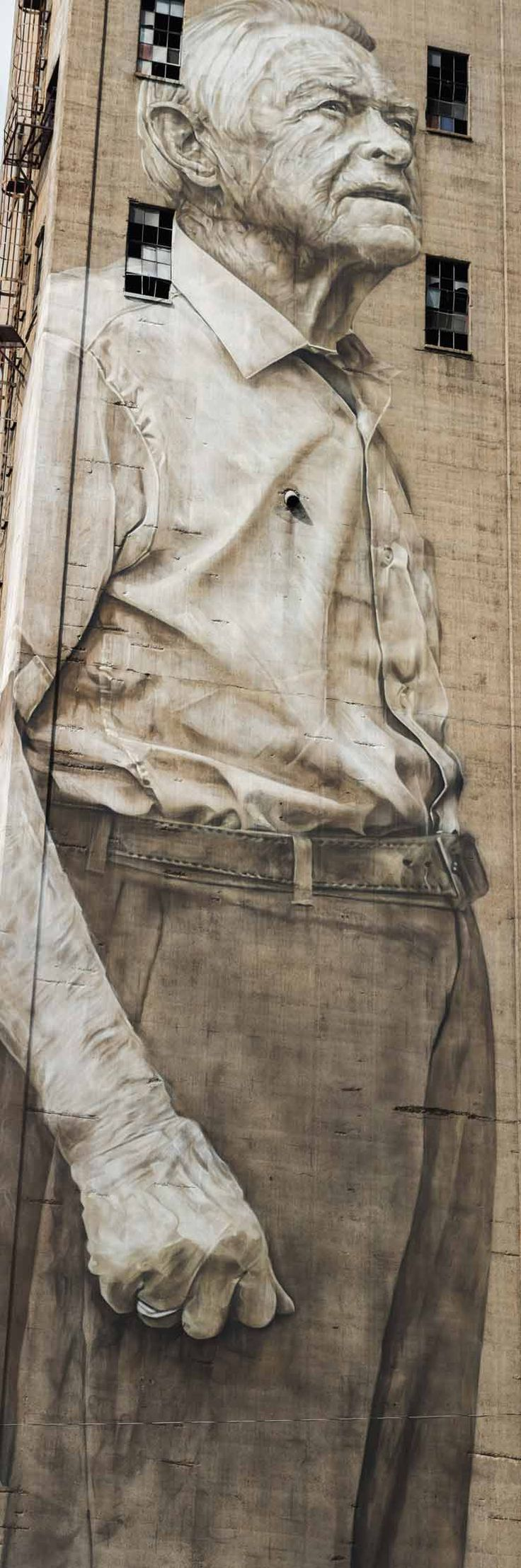 "Guido Van Helten, Mr. Estes, and Changing ""The Nations"" in Nashville : Brooklyn Street Art"