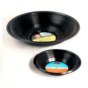 Bol apéritif en caoutchouc Vinyl Spinning Hat