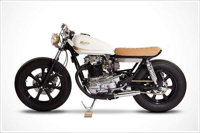 Maria Motorcycles '80 XS 650E -'Eva' - Pipeburn - Purveyors of Classic Motorcycles, Cafe Racers & Custom motorbikes