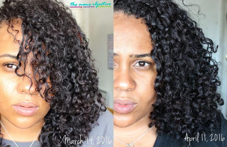 Natural Hair Curl Pattern A