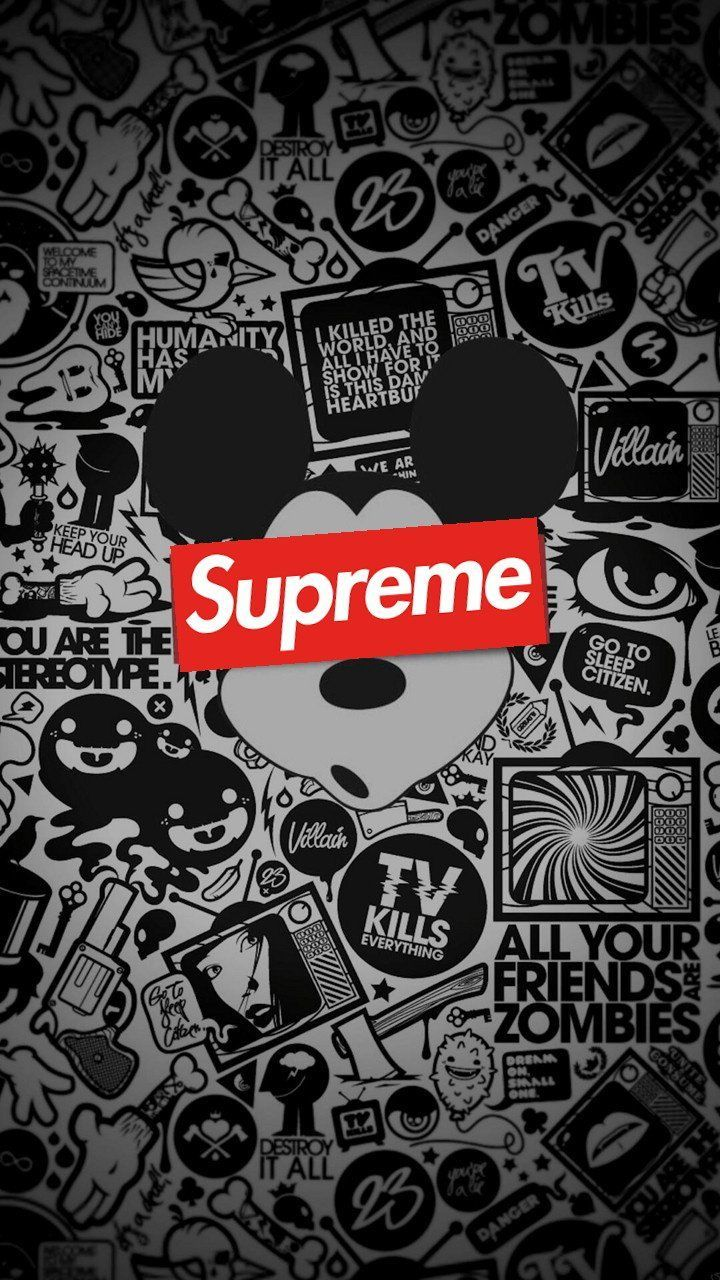 Mickey Mouse Supreme Wallpapers Top Free Mickey Mouse Supreme