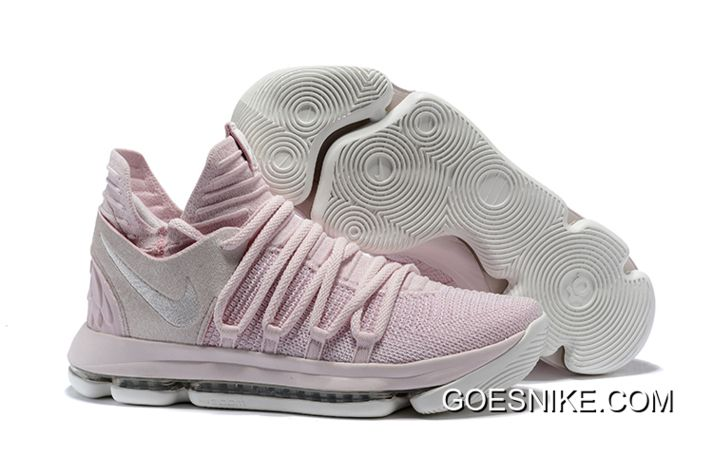 Nike KD 10 'Aunt Pearl' Pearl PinkWhite Sail Outlet