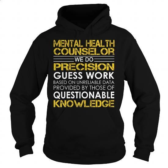 Mental Health Counselor Job Title - #funny t shirt #hooded sweater. SIMILAR ITEMS => https://www.sunfrog.com/Jobs/Mental-Health-Counselor-Job-Title-Black-Hoodie.html?60505