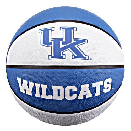 NCAA Kentucky Wildcats Collegiate Deluxe Official Size Rubber Basketball by Baden. Save 3 Off!. $17.44