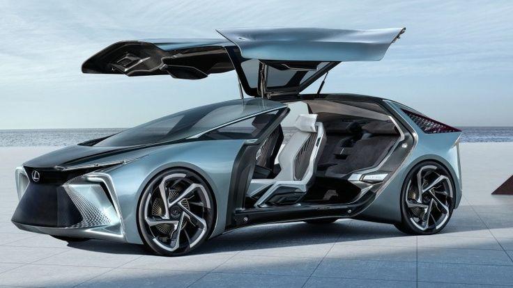 Concept Studio: Toyota shows futuristic electric car from Lexus