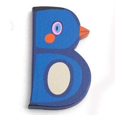 Wooden Animal Letter ''B''
