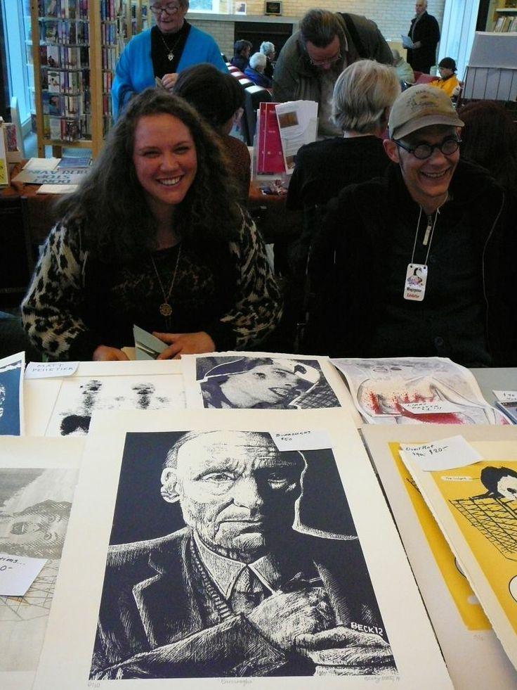 Becky Katz and Matt McInnes, artists, Hamilton, Ont. Photo by Don McLeod.