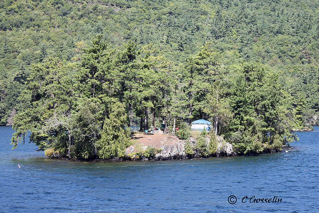 LAKE GEORGE | ISLAND CAMPING | CAMPING ON ISLAND | NEW YORK | NY | USA ...