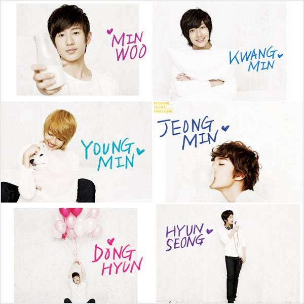 Boyfriend (보이프렌드) Members