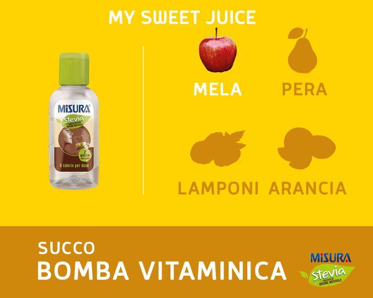 Una vera bomba vitaminica per affrontare al meglio una nuova settimana!  #vitamins #juice #fruits #stevia