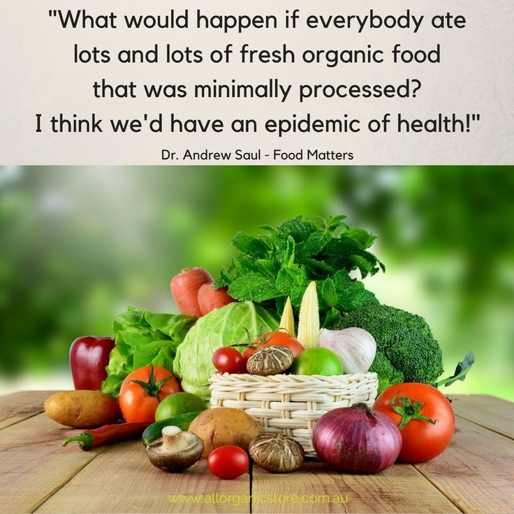 Good health starts with good decisions!
