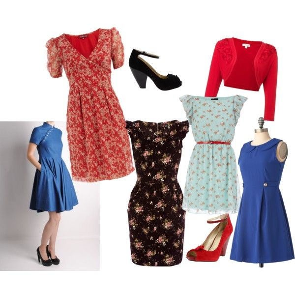 Fashion inspired by Allie from The Notebook http://goodgirlsinc.files.wordpress.com/2012/04/allie_the_notebook_dresses.jpg