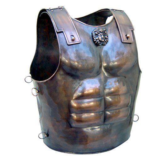 Buy Roman Short Muscle Cuirass Breastplate with Bronze Finish  **    High Quality Reproduction by Top Manufacturer Deepeeka** **    Perfect for any Re-enactment, Theatrical, or Costume Use** **    Handcrafted in Steel and Brass**  Buy From Amazon  http://www.amazon.com/gp/product/B0072W51JO?tag=canreb0c-20