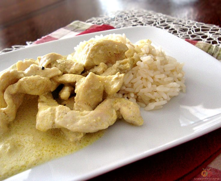 Pollo+al+curry+con+riso+Pilaf