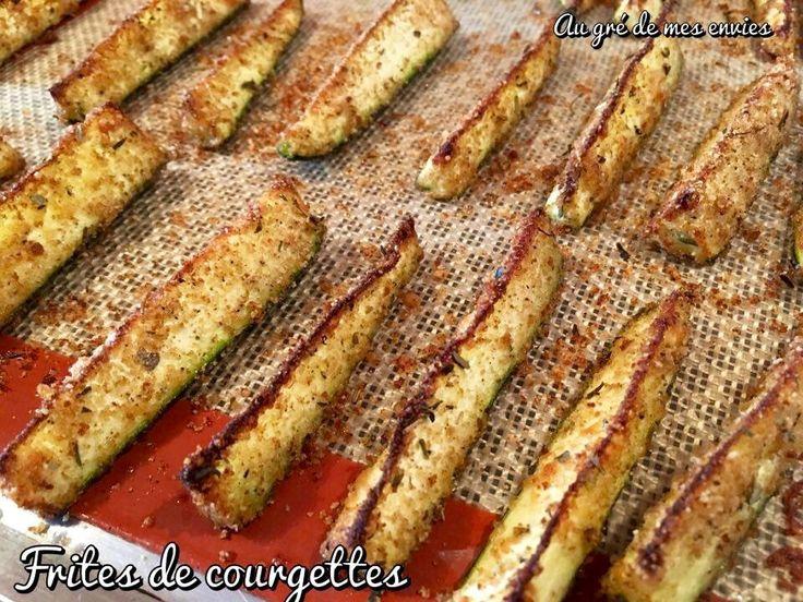 Frites de courgettes #parmesan #silpat