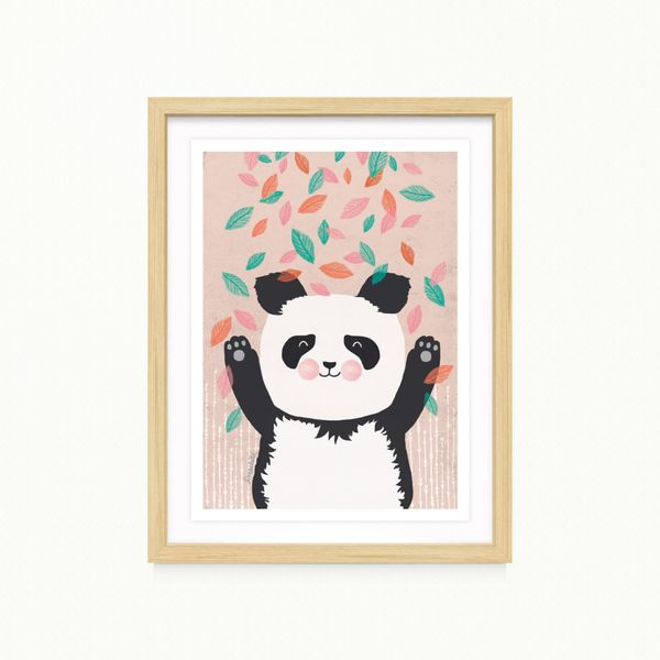 "Print  ""Panda""  DIN A 4  von Illustration|Photography by TreeChild auf DaWanda.com"