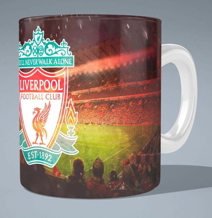 A personal favourite from my Etsy shop https://www.etsy.com/uk/listing/483209947/liverpool-fc-anfield-new-stand-mug