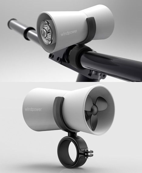 International Bicycle Design Competition 2013 Winners, Part 1 - Core77 Lights are key to urban biking. Not sure wind is better than solar but still a respectable engineering solution.