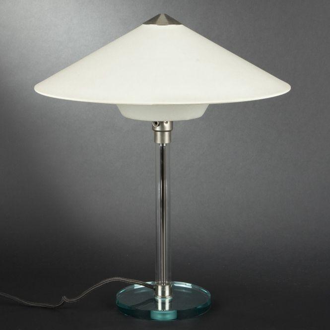 Editor table lamp furniture pinterest desks lamps and design - Wilhelm Wagenfeld 1900 1990 Tecnolumen Editor Table