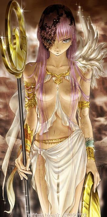 Saint Seiya - Athena Fanart