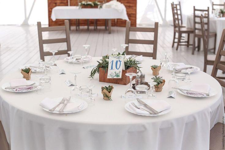 Купить Деревянные горшки для свадебных цветочных композиций на стол. - коричневый, горшки для цветов, ящики для цветов