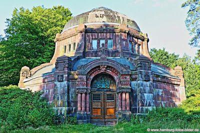 Alte Kapelle auf dem Friedhof in Hamburg Ohlsdorf http://www.hamburg-fotos-bilder.de