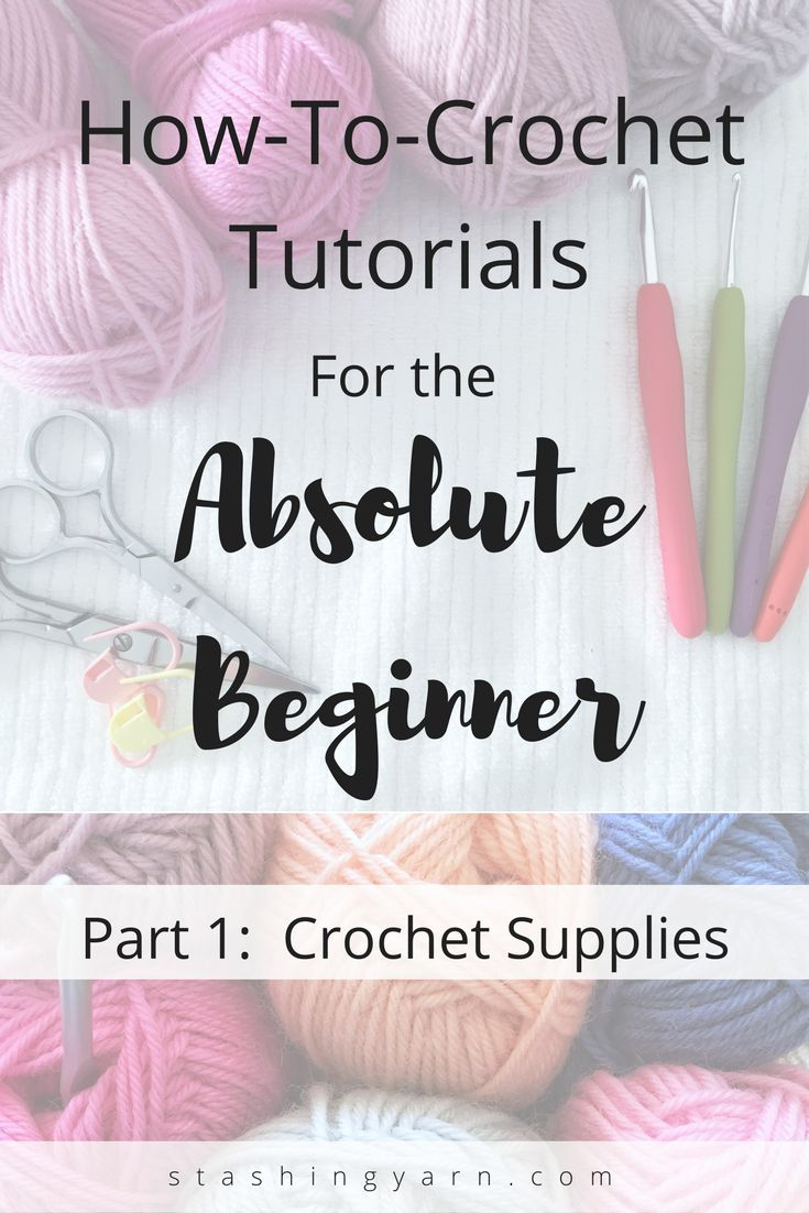 Part 1 of a 3 part series on how to learn to croch…