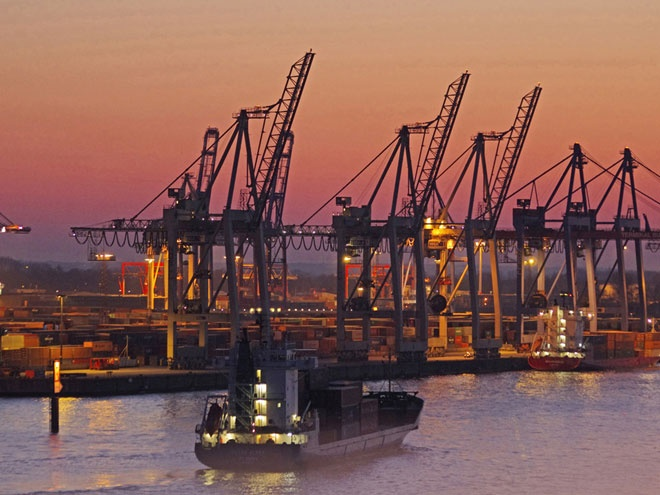 Hamburg Habour- Container shipsWorld News BBC News Danmark Denmark List of All The  Countries The Republic of Joy Richard Preuss