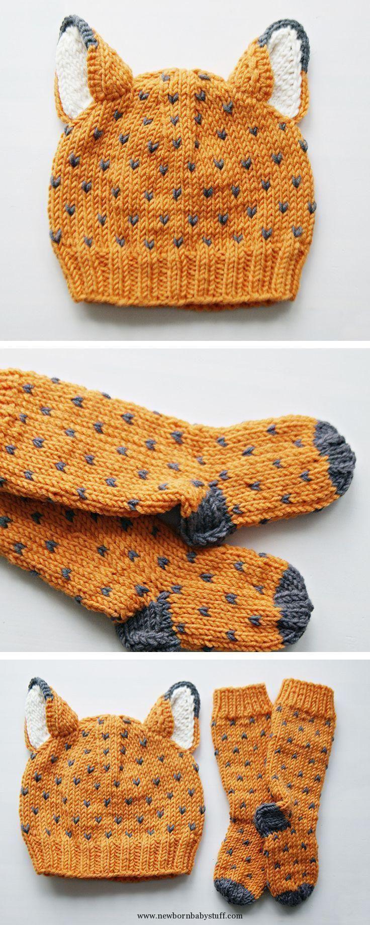 Strickmuster für Babys Strickmuster für Babys Gestrickte Winterkleidung für