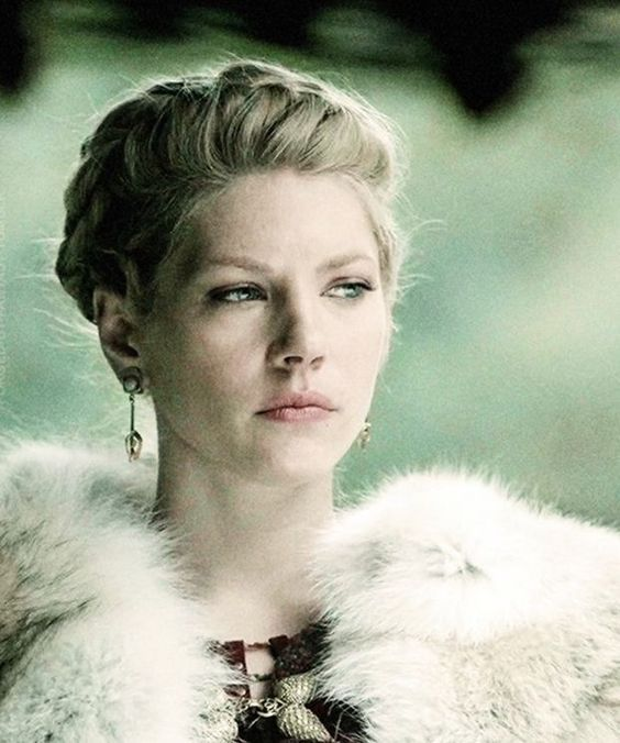 female character inspiration regal historical vikings tv show blonde actress