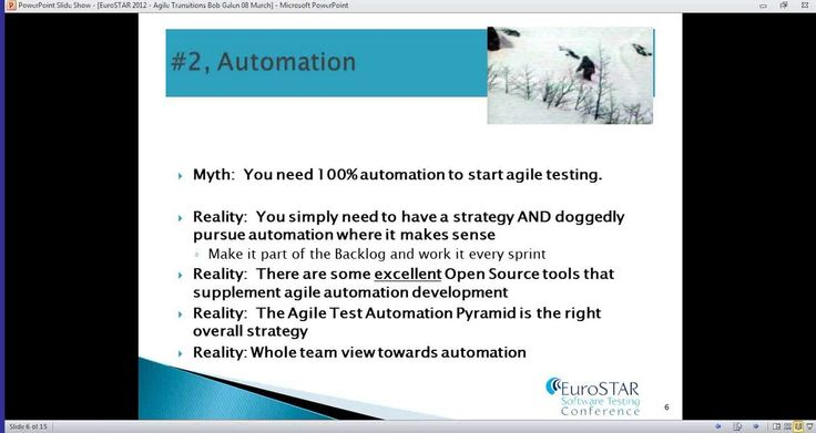 """Keys for Transitioning from Traditional to Agile Testing"" with Bob Galen"