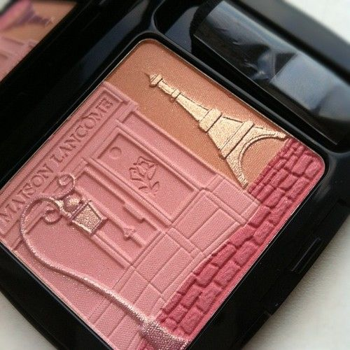 Review and Swatches of Maison Lancome blush and Blondes Fatale Eyeshadow and…