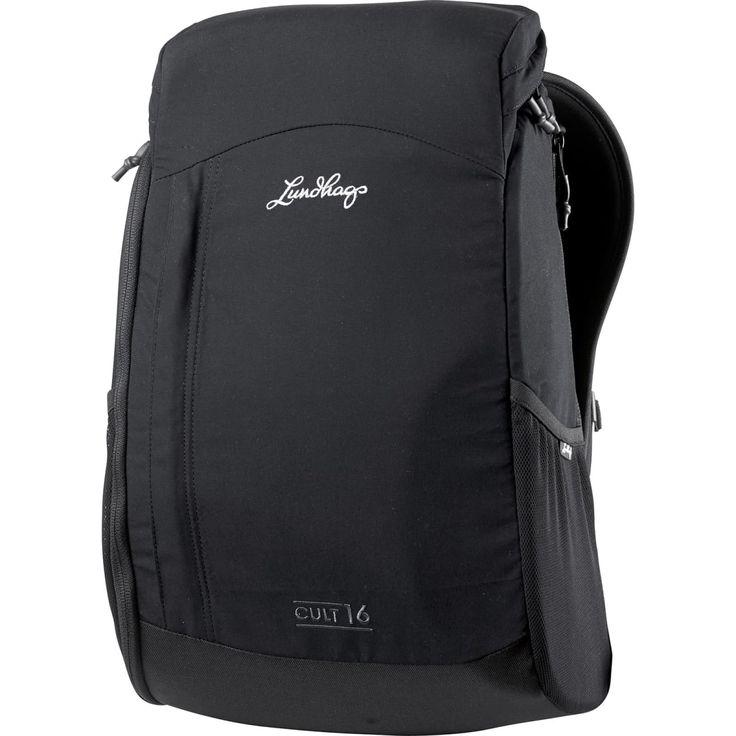 Cult 16 från Lundhags är en smart ryggsäck för alla tillfällen. Helt paddad med separat sidoingång för datorn. En skyddande ryggsäck med vattenavvisande yttertyg i LPC.
