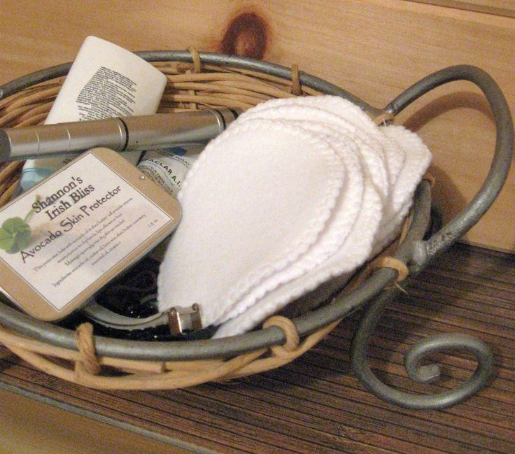 AnnyMay Le Blog: Éco Tuto: fabriquer des tampons démaquillants réutilisables