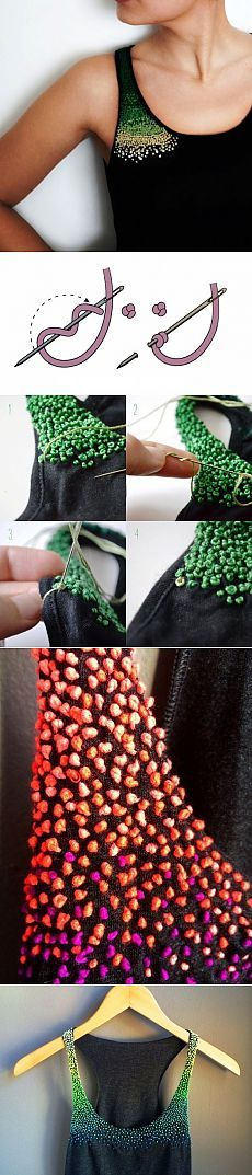 This is a Russia blog. But it is filled with wonderful fabric manipulation, sewing tips, patterns, designs. Incredible. Got to it for this beading with knots?